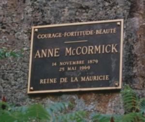 Plaque AMcC